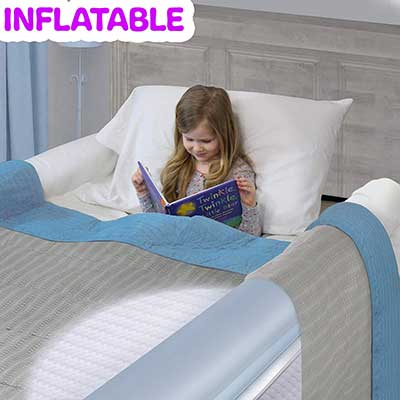 Inflatable Travel Beds Rails for Toddlers