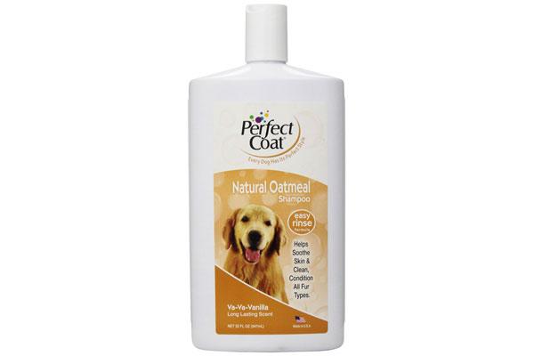 Perfect Coat Natural Oatmeal Shampoo/ French Vanilla