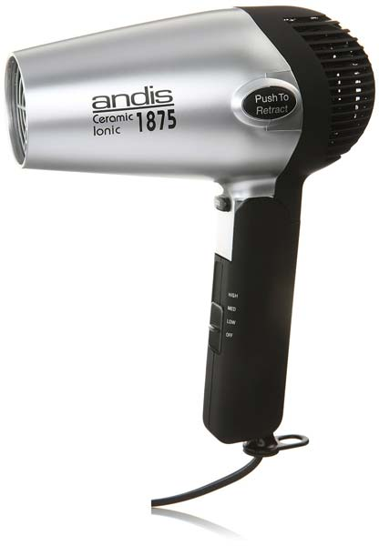 Andis 1875-Watt Fold-N-Go Ionic Hair Dryer