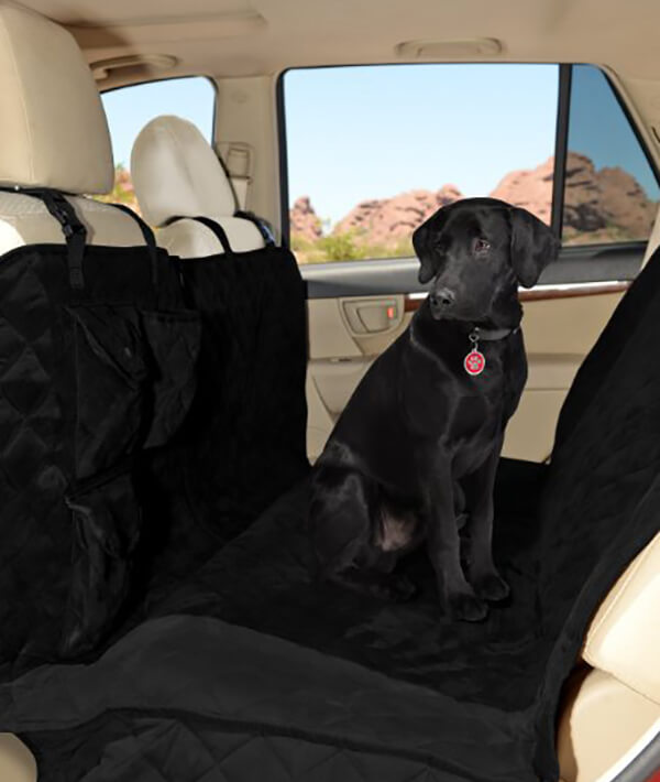 Premium Quilted Dog Car Seat Covers by The Pristine Lola 700