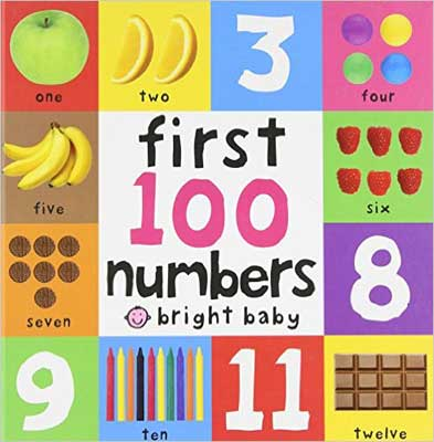 First 100 Numbers Board (Bright Baby)