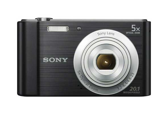 Sony Digital Camera - DSCW800/B 20.1 MP