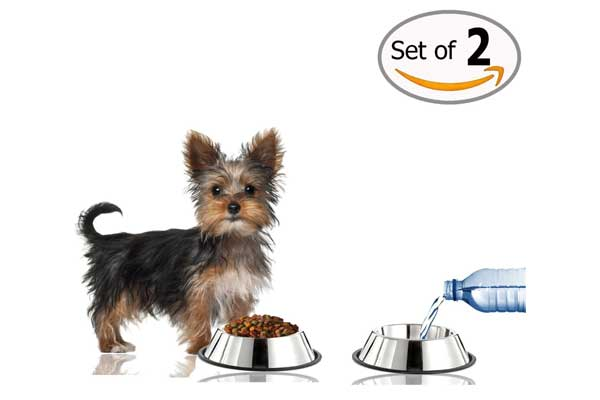 GPET Dog Bowl, 16 Ounce (Set of 2)