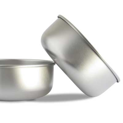 Basis Pet Stainless Steel Dog-Bowl