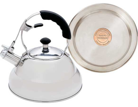 Chef's Secret KTTKC Surgical Stainless Steel Tea Kettle