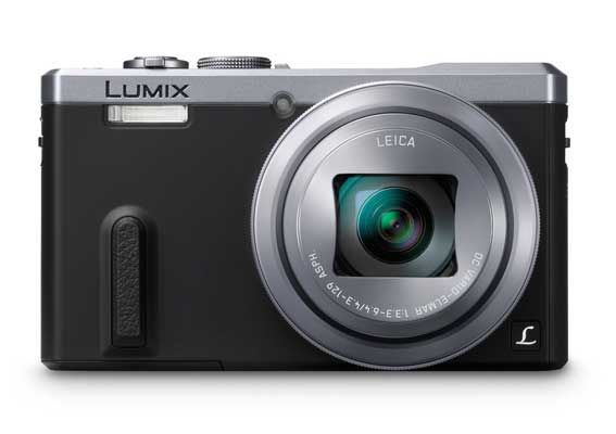 Panasonic Digital Camera DMC-ZS40S with 3.0-Inch LCD