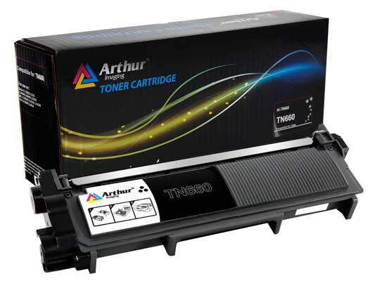 Arthur Imaging Compatible High Yield Toner Cartridge Replacement for TN630 and TN660