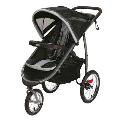 2015 GRACO FAST-ACTION FOLD JOGGER CLICK CONNECT STROLLER, GOTHAM