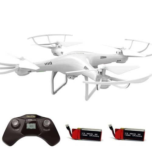 Cheerwing CW4 2.4Ghz 4CH RC chopper Drone with 720P HD Camera
