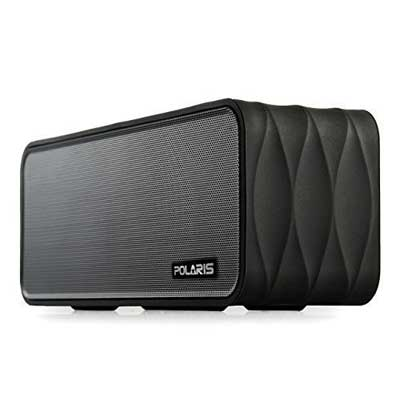Polaris V8 Portable Bluetooth Speaker of Micro SD, FM-radio, MP3 Player, NFC, and LED Display