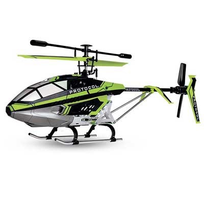Protocol - Our PRIME Chopper - Predator SB - Large Outdoor Helicopter - 3.5 Channel RC