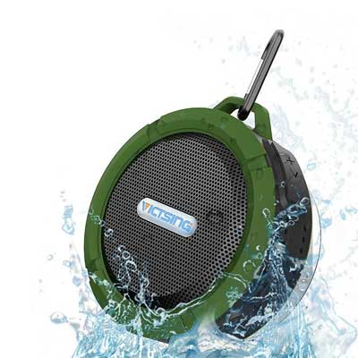 VicTsing Wireless Waterproof Outdoor and Shower Speaker of Cup/Hands-Free Speakerphone