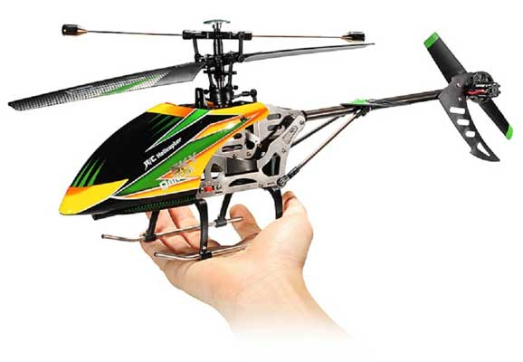 WLtoys V912 4CH Large Single Blade RC Control Helicopter Using Gyro RTF