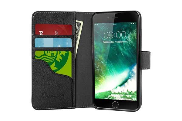 i-Blason Leather Wallet Case