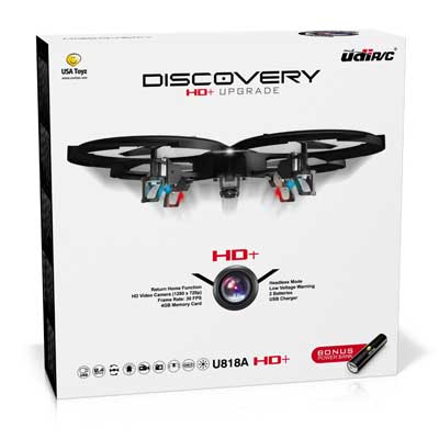 USI 818A HD + RC Quad copter Drone