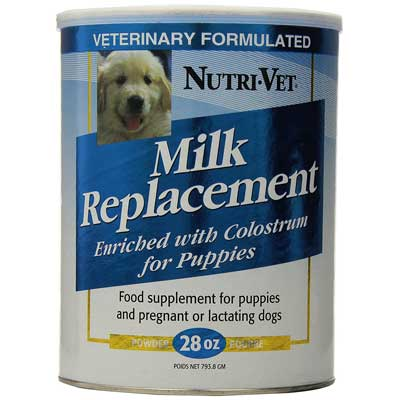 Nutri-Vet Milk Replacement for Puppies - 12 oz