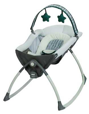 Graco Little Lounger Rocking Seat Plus Vibrating Lounge