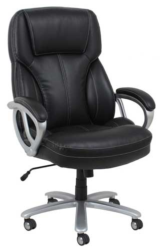 Essentials by OFM Big and Tall Leather Executive Office Chair