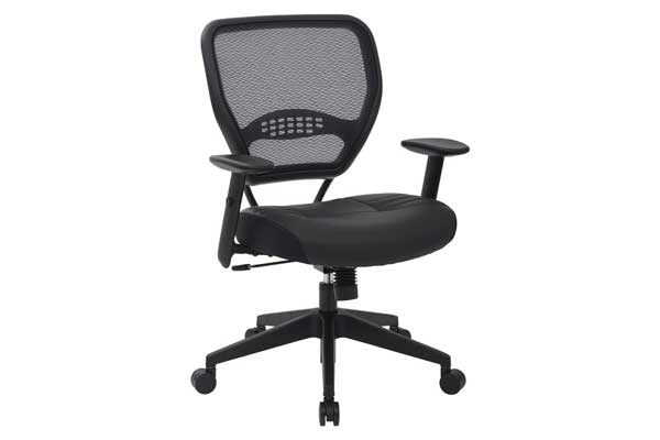 Space Seating Professional Airgrid Eco leather Seat