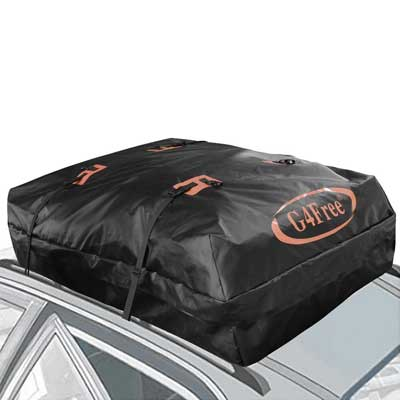 G4Free 185 Cubic Feet Waterproof Car Top Carrier