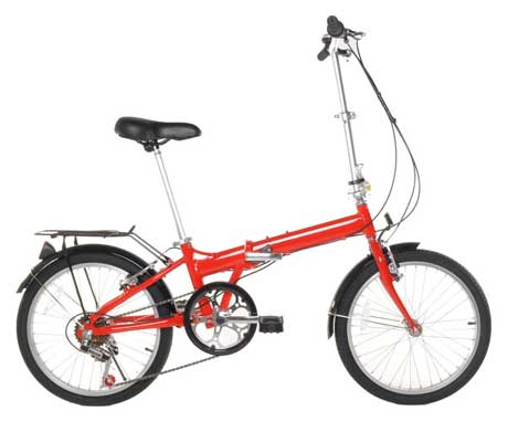 Vilano 20-Inch Lightweight Aluminum Foldable Bicycle