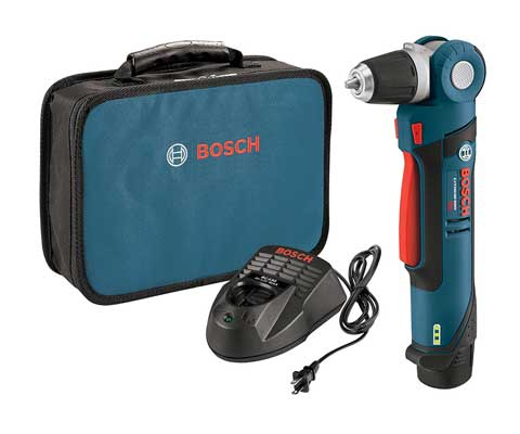 Bosch PS11-102 12-Volt Lithium-Ion Max 3/8-Inch Right Angle Drill/Driver Kit