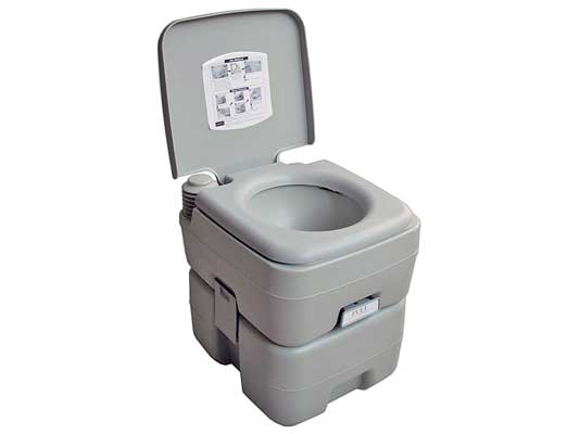 Five Oceans Portable Toilet Potty