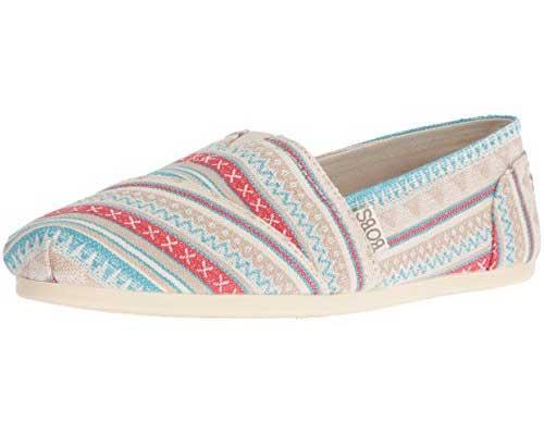BOBS Skechers Women's Plush Fashion Slip-On Flat