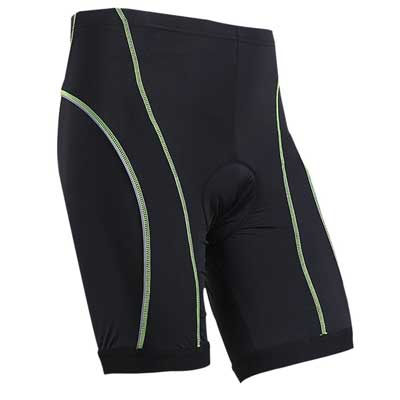 3D Gel Padded Coolmax Men Cycling Shorts