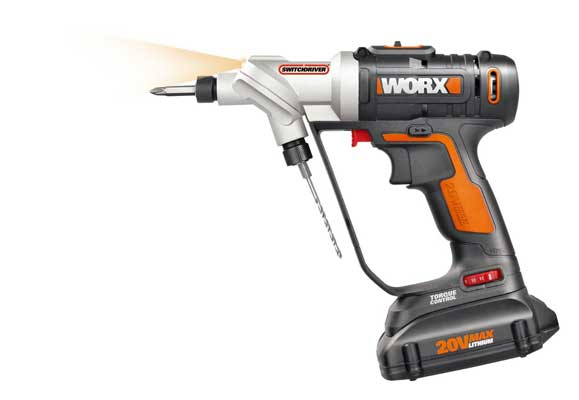 WORX Switch driver Two-in-One Cordless Drill and Driver