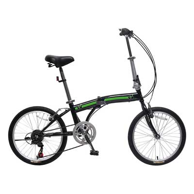 unYOUsual U arc 20-Inch Folding Bike Foldable Bicycle 6 Speed Shimano city bike for adult