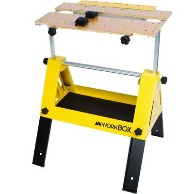 WorkBox Multifunctional Portable Toolbox & Workstand