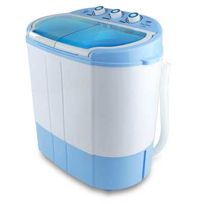 Electric Portable Washer and Spin Dryer, Mini Washing Machine