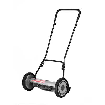 The Great States 815-18 18-Inch 5-Blade Push Reel Lawn Mower