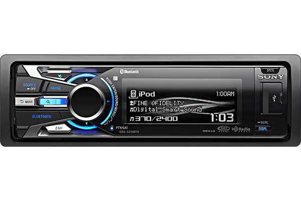 Sony DSXS310BTX Bluetooth Digital Media Car Stereo Receiver