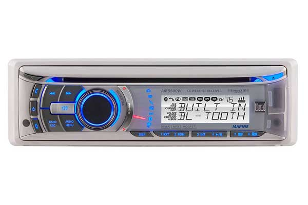 Dual AMB600W Marine CD/MP3 Receiver