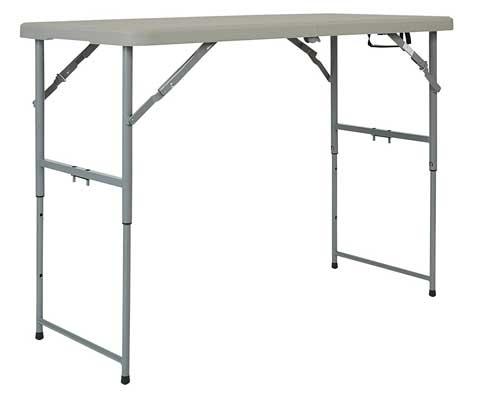 Office Star Resin Multipurpose Rectangular Table