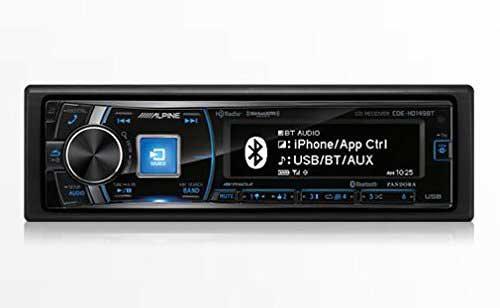 Alpine Single-Din Bluetooth Car Stereo with HD Radio