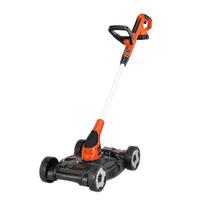 BLACK+DECKER MTC220 3-in-1 Trimmer/Edger and Mower, 12""