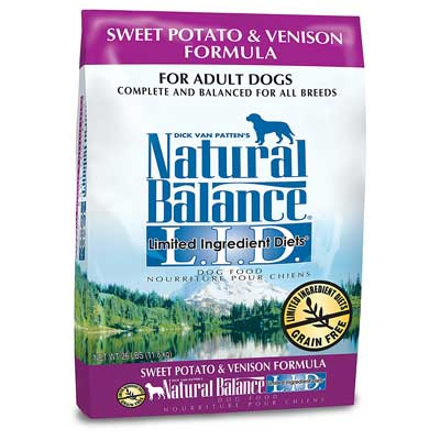 Natural Balance Limited Ingredient Diets Dry Dog Food