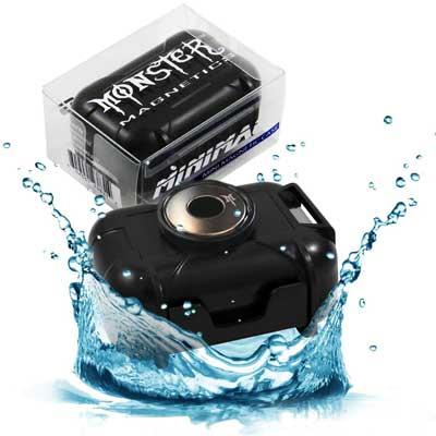 Monster Magnetics Waterproof GPS Case
