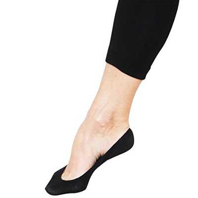 Stomper Joe 4 Pack Premium Cotton No Show Socks
