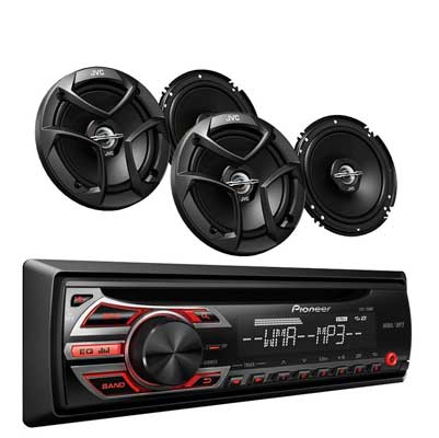 Pioneer DEH-150MP Car Audio CD MP3 Stereo Radio Player