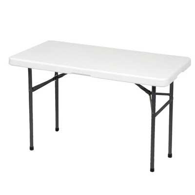 """Alextend 48.03"""" X 24.02"""" Folding Utility Table"""