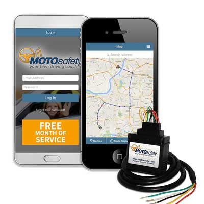 MOTOsafety 3G Wired GPS Car Tracker
