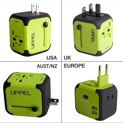 Uppel Travel Charger Adapter