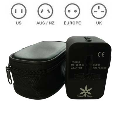 Travel Ninja All-In-One International Power Adapter