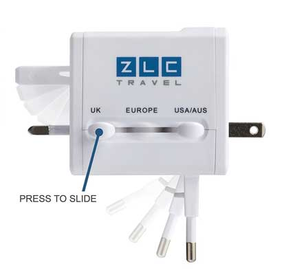 ZLC Travel Compact Universal Power Adapter
