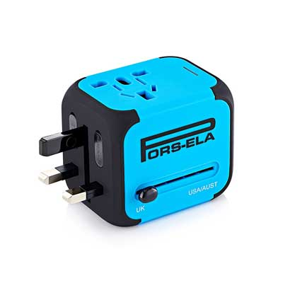 PORS-ELA International Travel Power Adapter