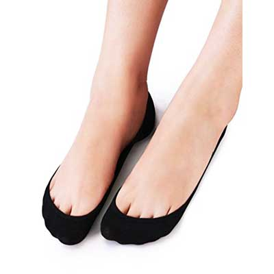 VERO MONTE 4 Pairs Women's No Show Socks